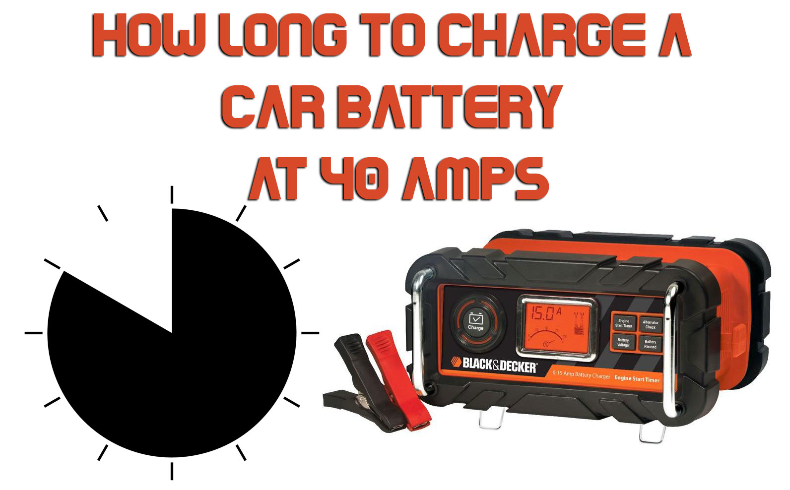 How To Charge A Car Battery Without A Charger >> How Long To Charge A Car Battery At 40 Amps Ruf Car