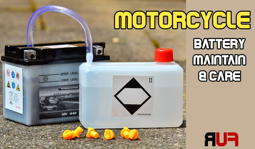 Motorcycle Battery Maintenance